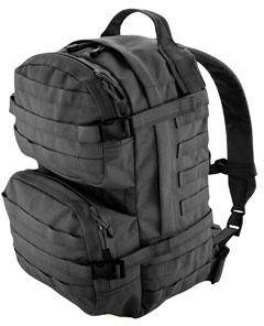 T.O.P. Gear Luggage Modular 3.0 Day Pack in Black Nylon