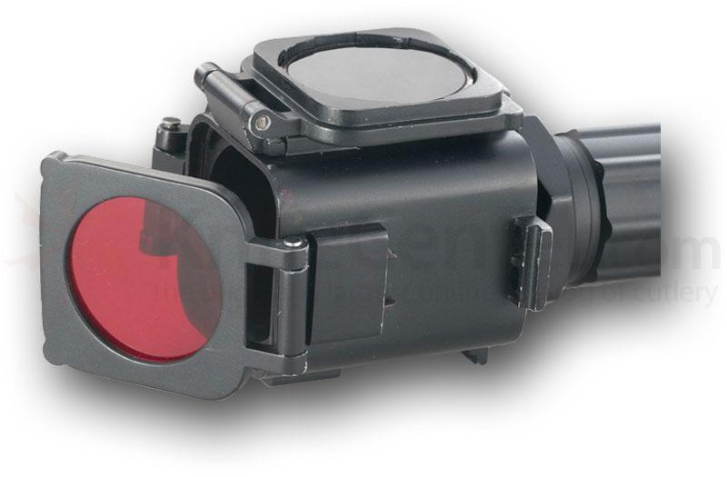 T.O.P. Trans-4-Mer 4-Filter Combo Unit for Use with 6V Xenon Flashlights