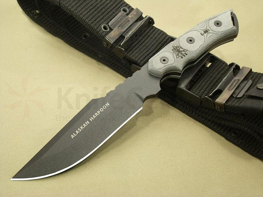 "TOPS Knives Alaskan Harpoon Survival Knife 6-3/4"" 1095"