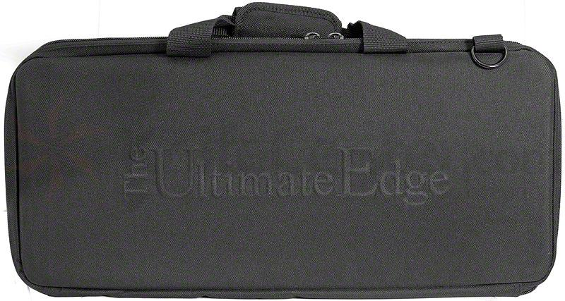 The Ultimate Edge 2001-EHB Deluxe 18 Piece Knife Case, Hard Sides, Black