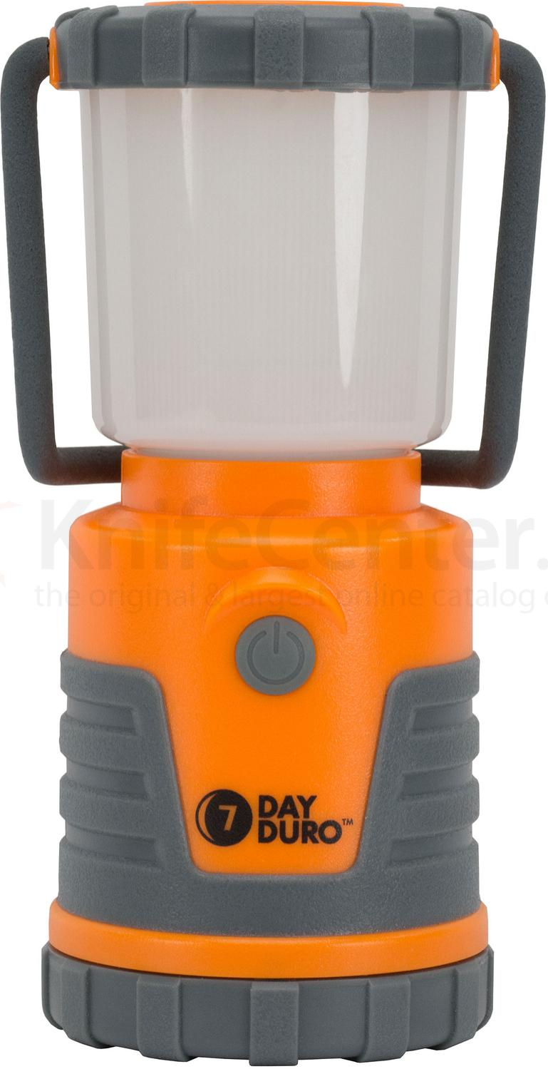 UST Ultimate Survival 7 Day Duro 4AA LED Lantern, Orange, 310 Max Lumens