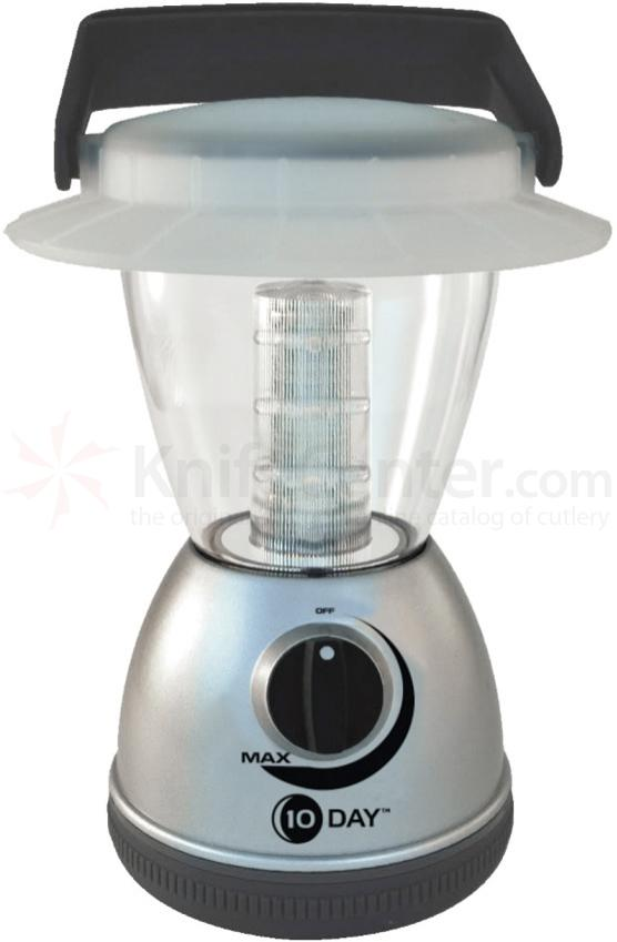 UST Ultimate Survival 10 Day LED Lantern, 160 Max Lumens, Silver (20-13012-00)
