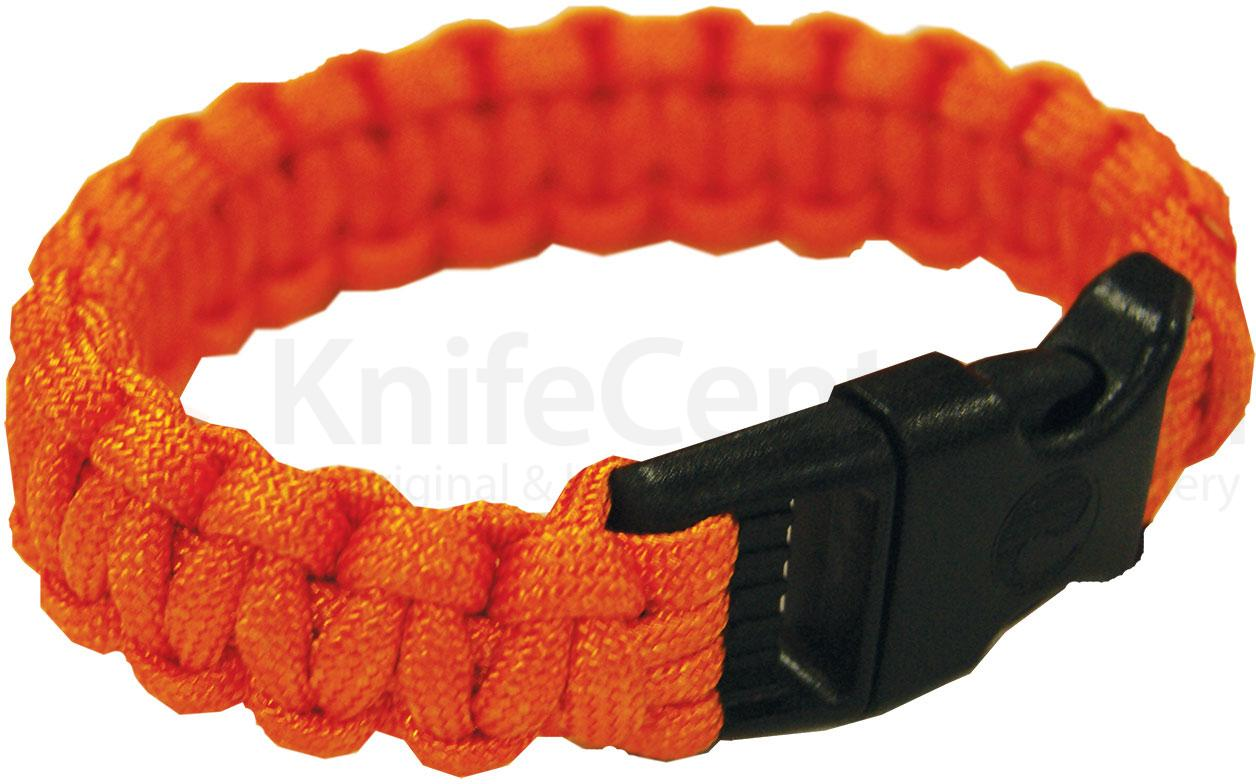 UST Ultimate Survival Paracord Survival Bracelet, Orange (20-295BB-35)