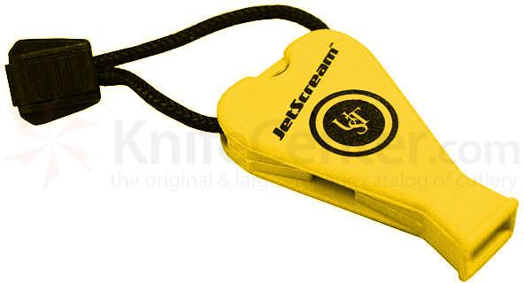 UST Ultimate Survival Marine JetScream Safety Whistle, Yellow