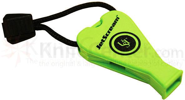 Ultimate Survival (Green) JetScream Safety Whistle