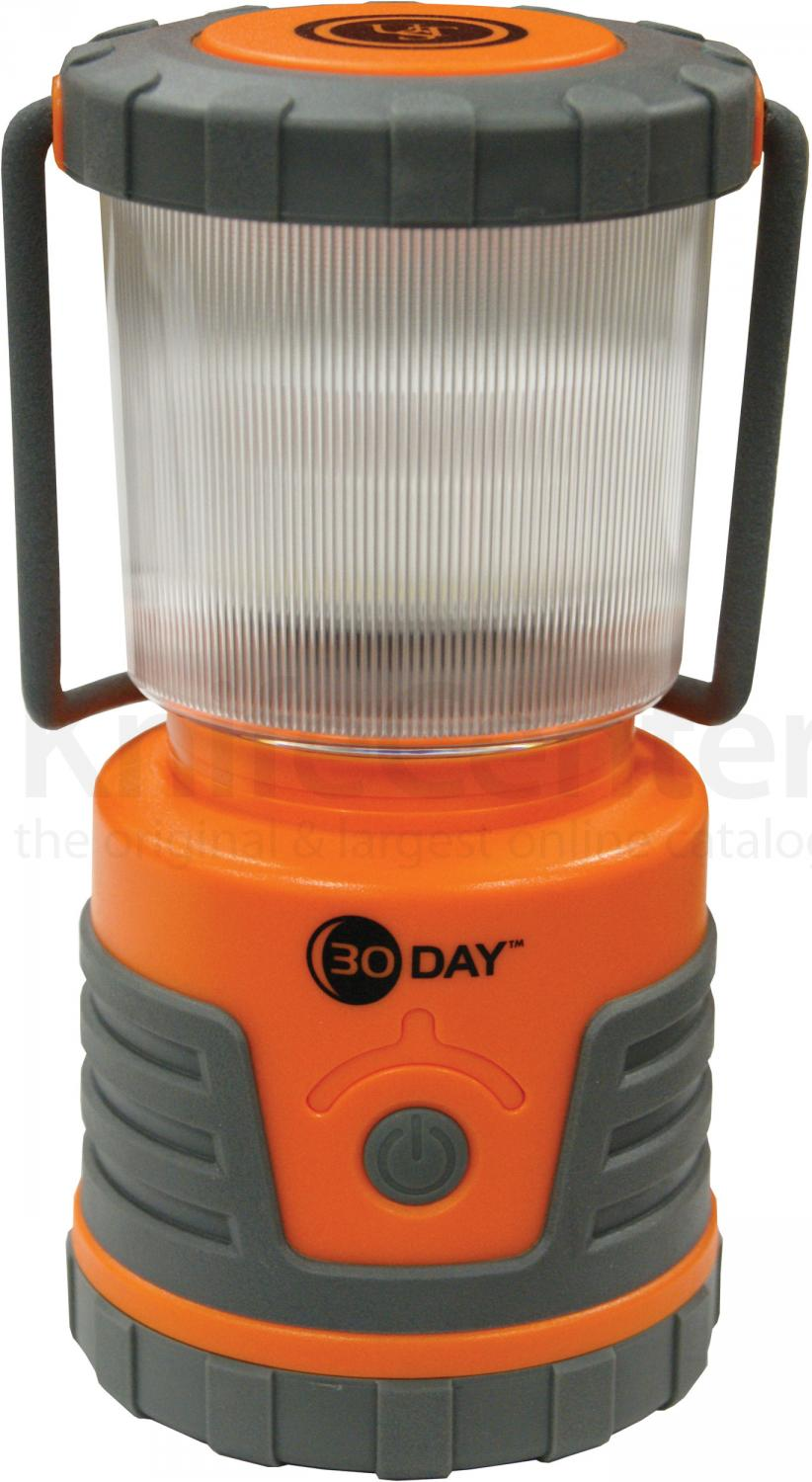 UST Ultimate Survival 30 Day LED Lantern 300 Max Lumens, Orange (20-PL20C3D-08)