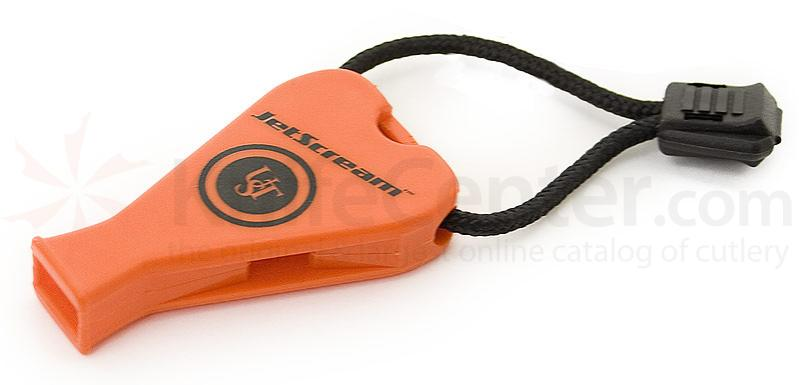 UST Ultimate Survival JetScream Safety Whistle, Orange