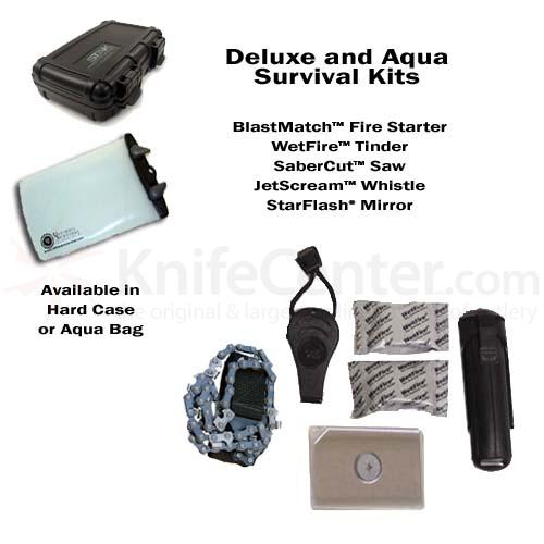 UST Ultimate Survival Deluxe Tool Kit in Aqua Pack