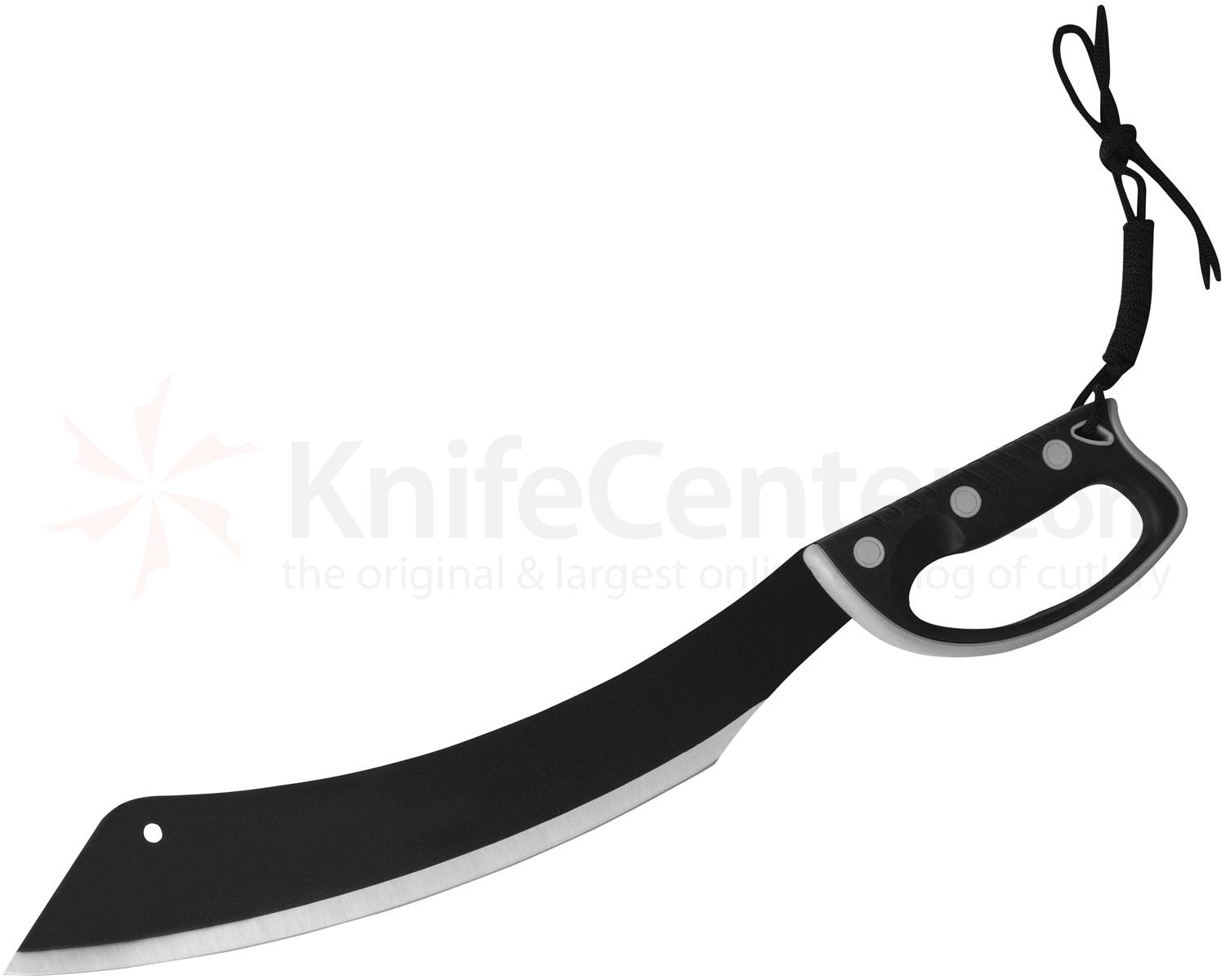 United Cutlery Colombian Panga Machete 15 inch Blade, Grey Handguard, Nylon Sheath