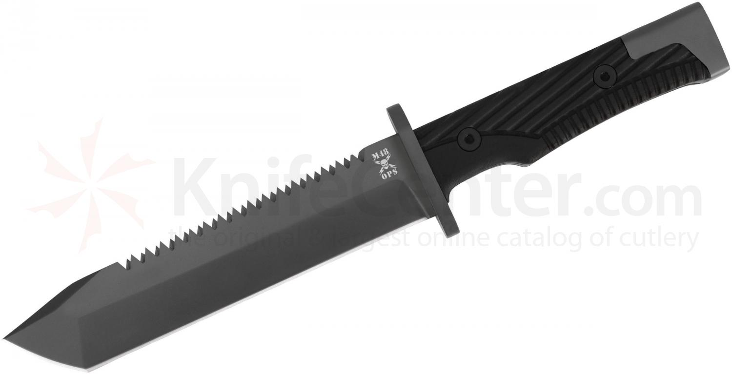 United Cutlery M48 Ops Combat Fighter Sawback Tanto Blade (UC3021)