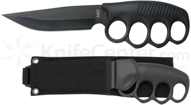 United Cutlery Sentry Knife 5 inch Plain Clip Point Blade, Knuckle Guard