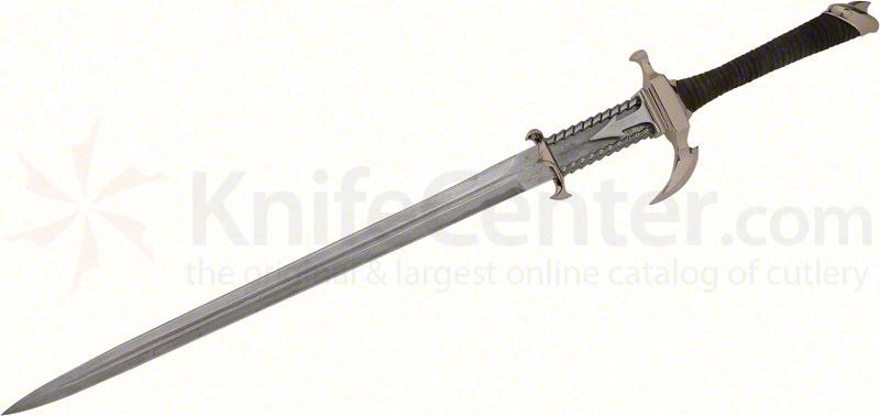 United Cutlery Gil Hibben 09 Dragons Lair Sword 21-1/4 inch Damascus Blade