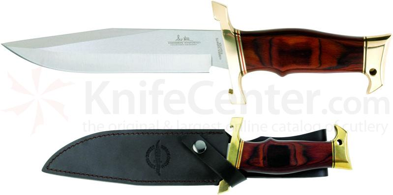 United Cutlery Gil Hibben Karate Master Fixed 7-1/2 inch Blade, Wood Handles