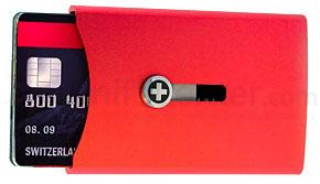 Wagner Swiss Wallet True Red with Money Clip