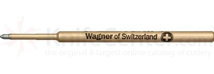 Wagner Pressurized Ink Refill, Medium Point, Black Ink