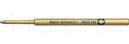Wagner Pressurized Ink Refill, Medium Point, Blue Ink