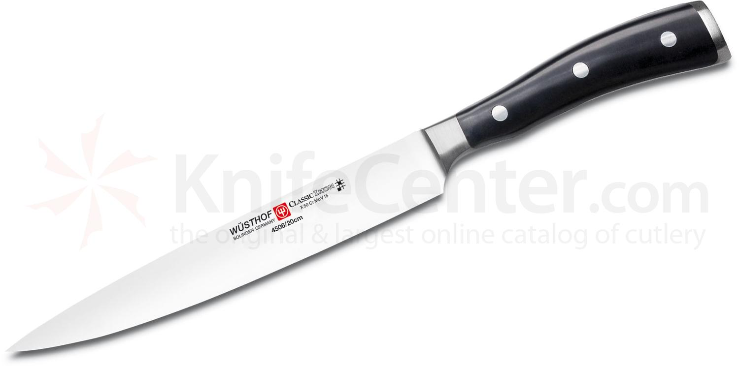 Wusthof Classic Ikon 8 inch Carving Knife