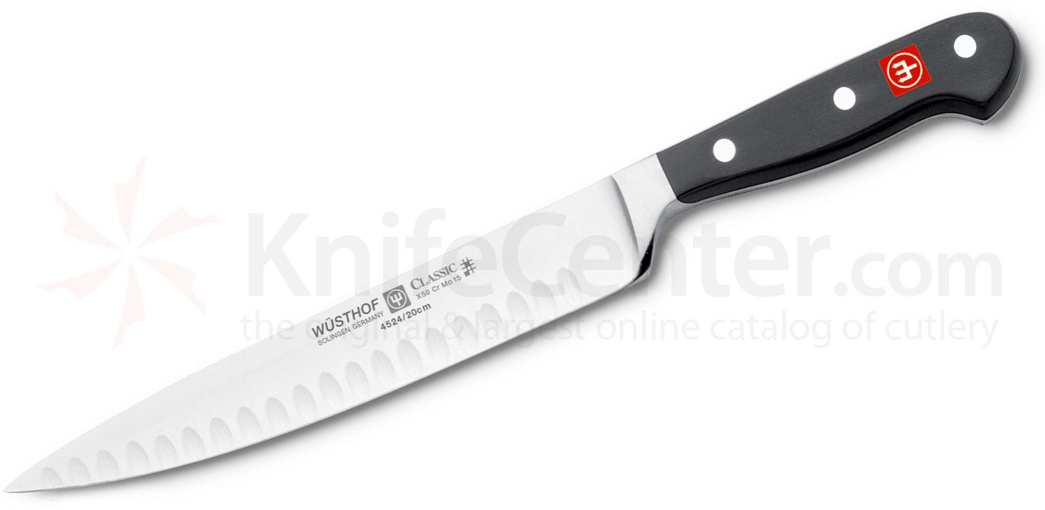 Wusthof Classic 8 inch Carving Knife, Hollow Edge