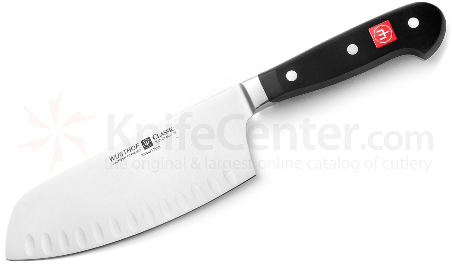 Wusthof Classic 7 inch Chai Dao Knife, Hollow Edge