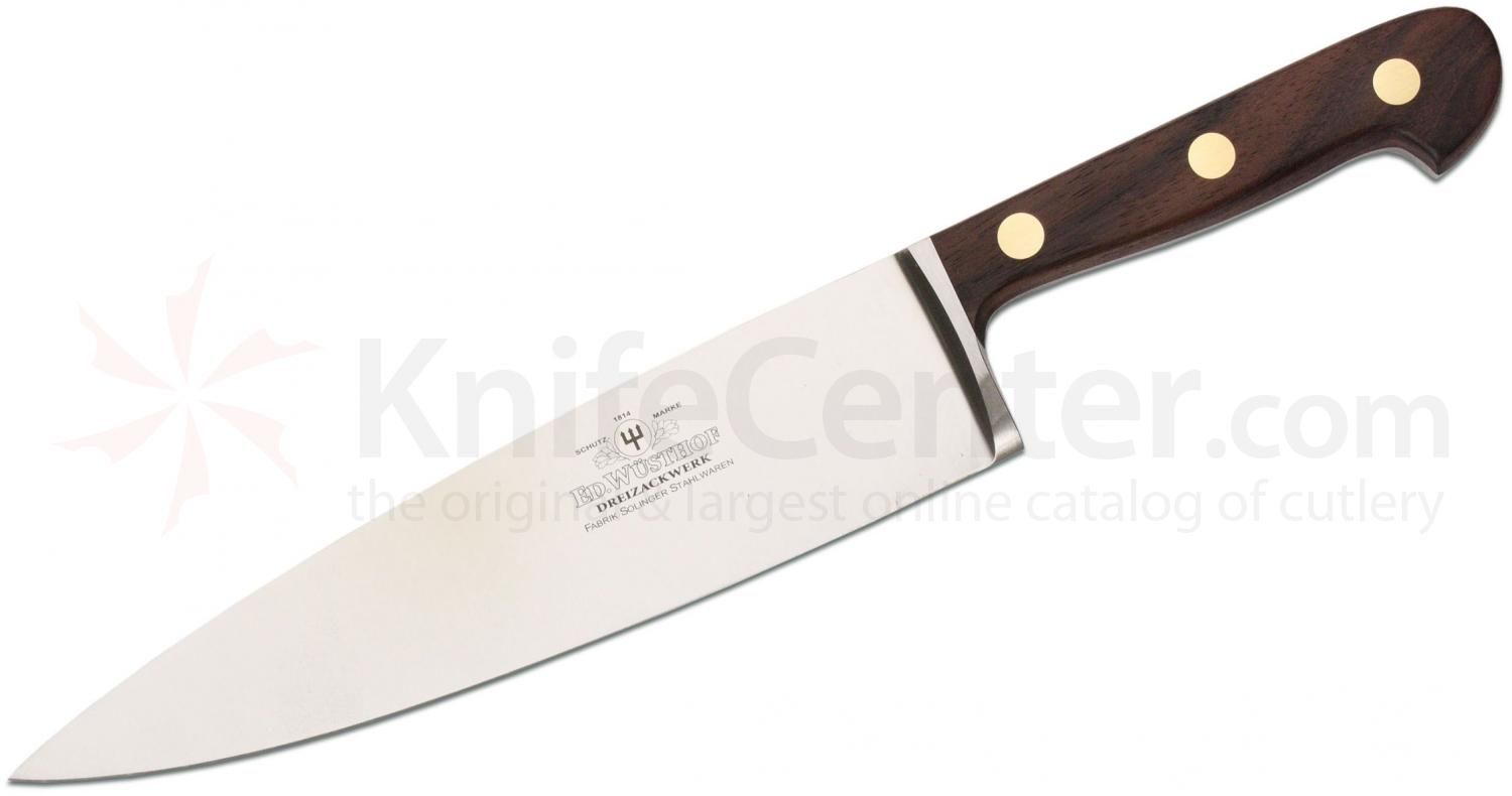 Uncategorized Wusthof Kitchen Knives wusthof 200th anniversary 9 chefs knife carbon steel blade inch rosewood handles gift boxed