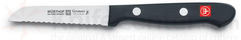 Wusthof Gourmet 3 inch Serrated Paring Knife