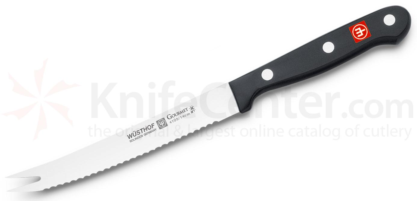 Wusthof Gourmet 5 inch Tomato Knife with Fork Tip