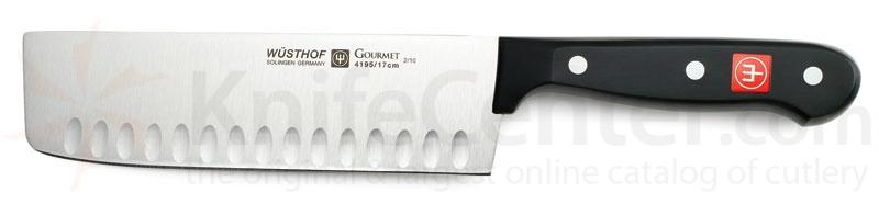Wusthof Gourmet 7 inch Nakiri with Hollow Edge