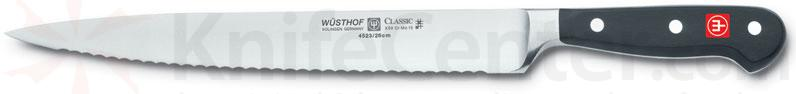 Wusthof Classic 10 inch Serrated Slicing Knife
