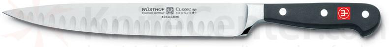 Wusthof Classic 9 inch Carving Knife, Hollow Edge