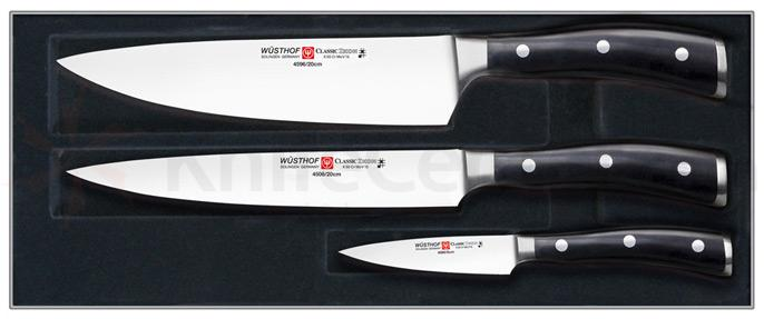 Wusthof Classic Ikon 3 Piece Chef's Set