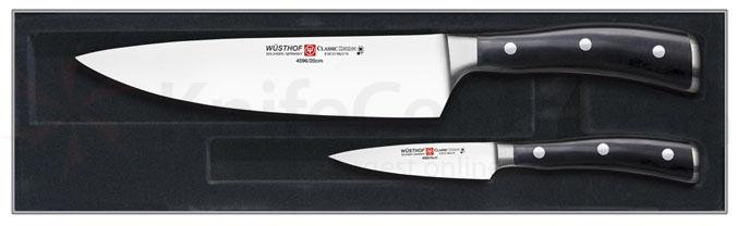 Wusthof Classic Ikon Two Piece Chef's Set