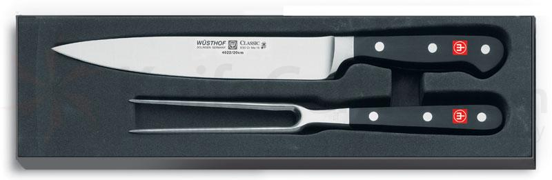 Wusthof Classic 2 Piece Carving Set