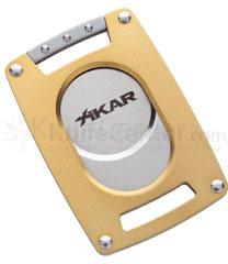 XIKAR Xi Ultra Slim Cigar Cutter - Gold
