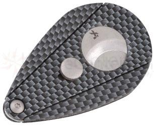 XIKAR Xi2 Cigar Cutter - Carbon Fiber Look