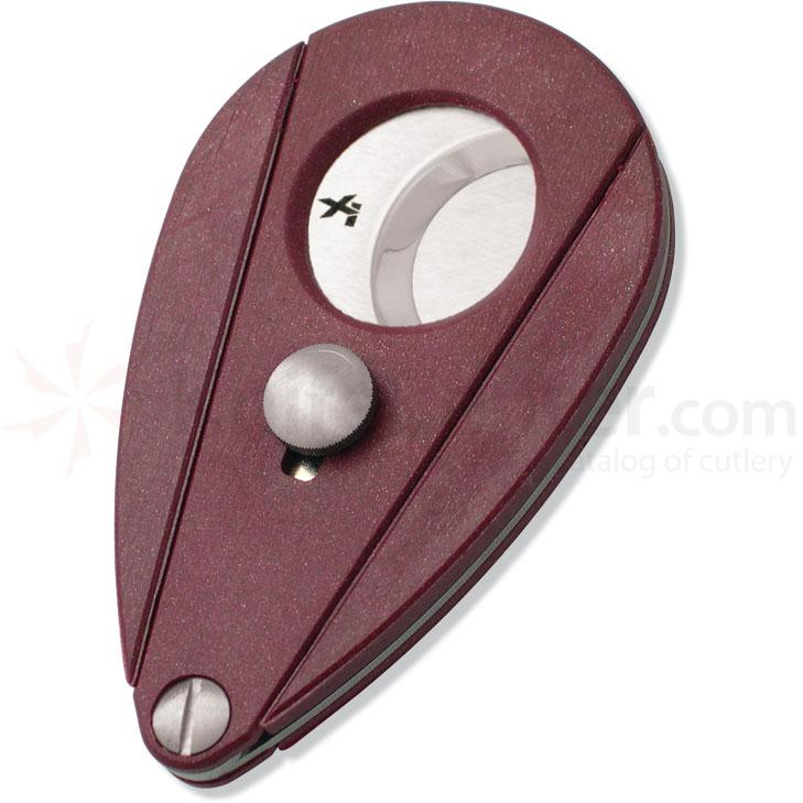 XIKAR Xi2 Cigar Cutter - Bloodstone Red
