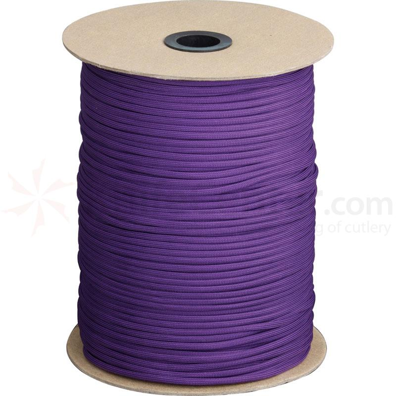 550 Paracord, Purple, 1000 Feet Roll
