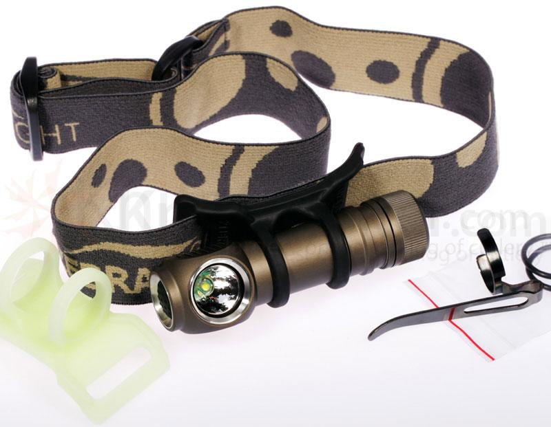 ZebraLight H51C AA Headlamp, LUXEON Rebel LED, 130 Max Lumens