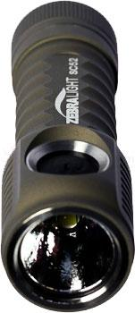 ZebraLight SC52W AA Flashlight, Neutral White XM-L2 LED, 280 Max Lumens