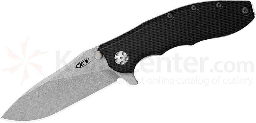 Zero Tolerance 0562 Folding Knife 3.5 inch ELMAX Blade, G10 and Titanium Handles