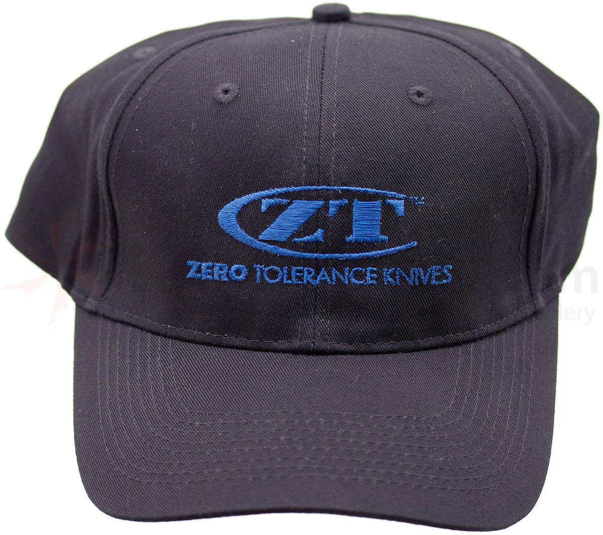 Zero Tolerance Baseball Cap, Black