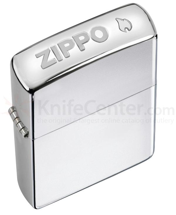 Zippo Crown Stamp High Polish Chrome