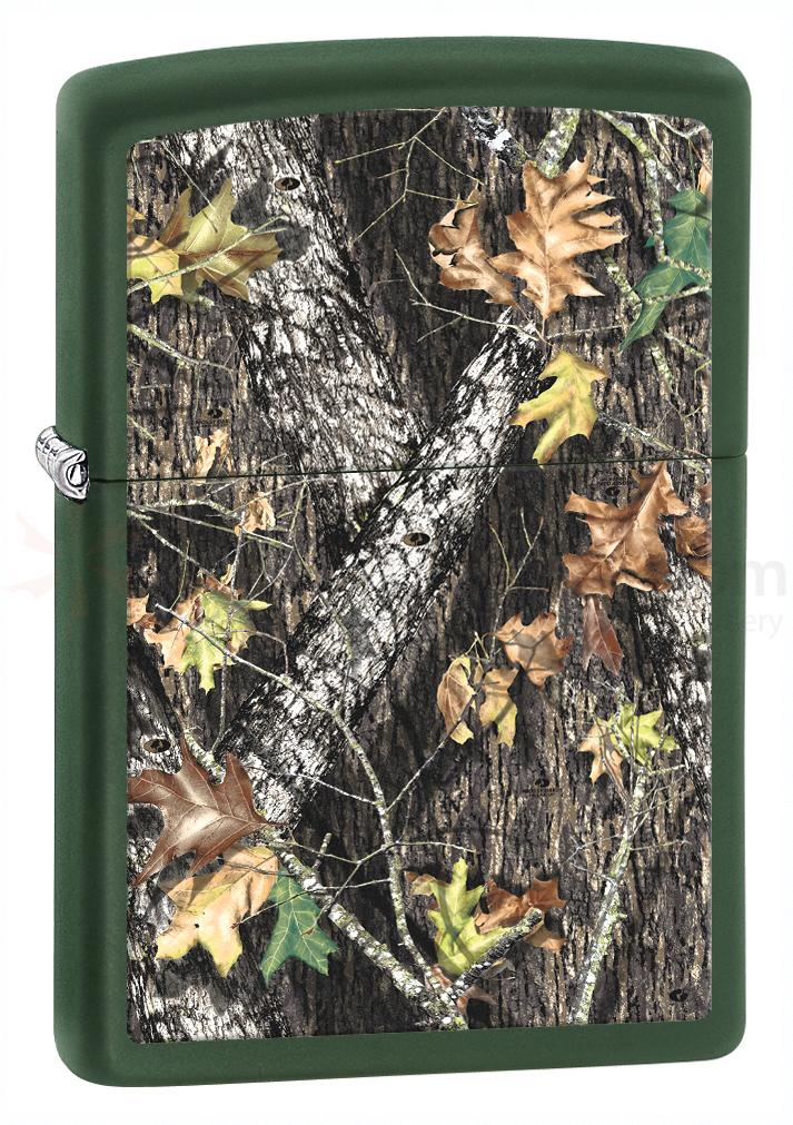 Zippo Mossy Oak Break-Up, Green Matte Classic