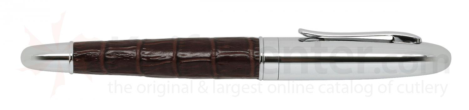 Zippo Burgundy Leather Rollerball