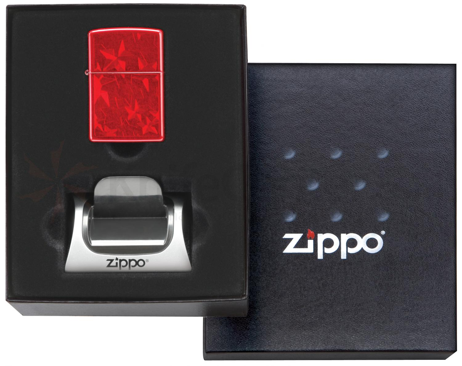 Zippo Gift Set Lighter / Magnetic Stand