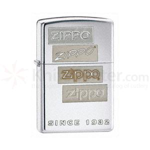 Zippo® High Polish Chrome, Chrome Generations