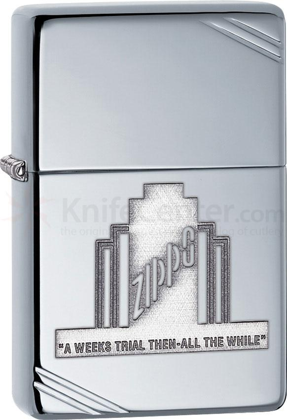 Zippo 28451 Classic, A Week's Trial Then-All the While