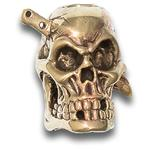 Andre De Villiers Custom Brass Butcher in Skull Bead