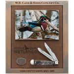 Case Ducks Unlimited Smooth Natural Bone Trapper Commemorative Gift Set (6254 SS)