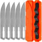 Gerber Vital Big Game Replacement Blades, Drop Point, 5 Pack with Carry Case