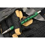Tuff-Writer Precision Press Tactical Pen, Green (TWP-PPP-AL-SAT-GRN)